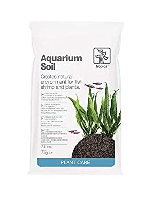 Tropica Aquarium Soil 3L Kompletter Bodengrund 2-3mm Pflanzendünger Pflanzen