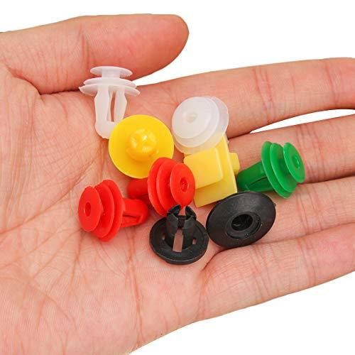 FeLiCia 500Pcs 70 Modelos Mixto Hebilla Trim Panel Hebilla De Coche Sujetador Clip