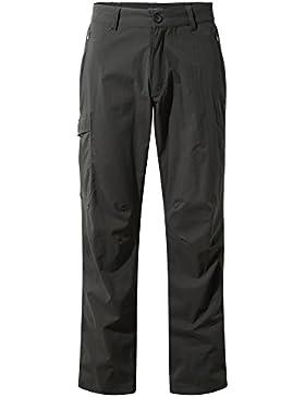 Craghoppers Pantalones elásticos de senderismo modelo ProLite para hombre (91cm/Pimienta Negra)