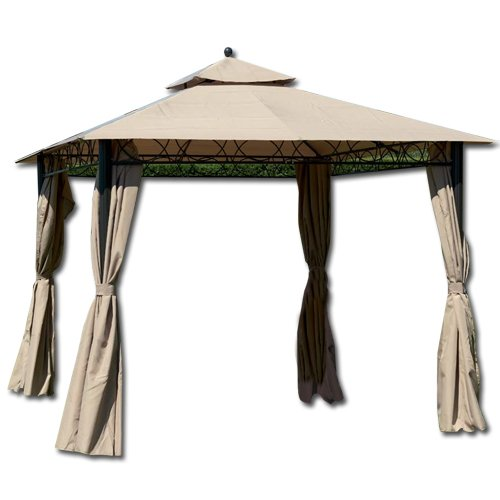 HOMEGARDEN Gazebo in Alluminio 3 x 3 metri