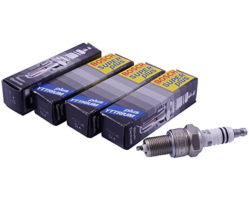 Candela BOSCH WR5DC+ 4 pezzo / BPR7ES per MOTO GUZZI V 35 TT 1984 - 1987