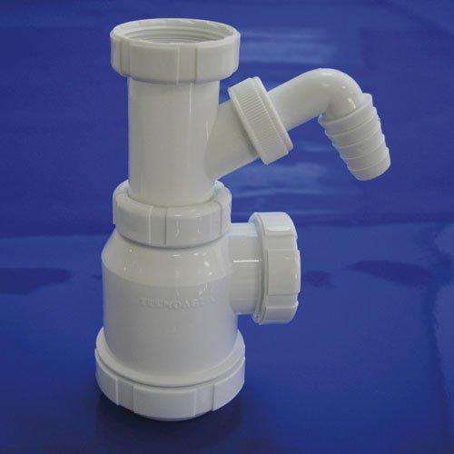 Wolfpack 4110230Geruchverschluss Flasche ausziehbar t-4-t 11/2Antennen Waschmaschine