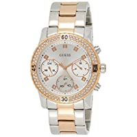 Guess Womens Quartz Watch, Analog Display and Stainless Steel Strap W0851L3