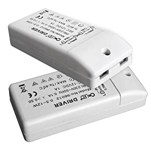 LED-Transformatoren 230/12 Volt, 0-80 Watt