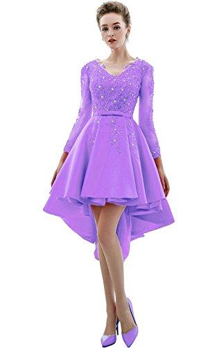 Vimans - Robe - Trapèze - Femme violet clair