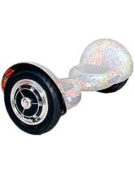 """SmartGyro Serie XL Silicone Cover Tr, Funda protectora silicona antideslizante y refletante en la oscuridad para patín eléctrico/ / hoverboard / Smart Scooter, color transparente , rueda 10"""""""