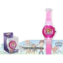 Paw Patrol - Skye reloj digital transparente (Kids PW16126)