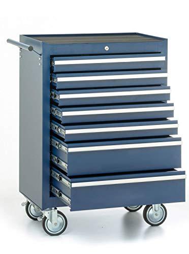 Werkstattwagen, 7 Schubladen, blau - 2