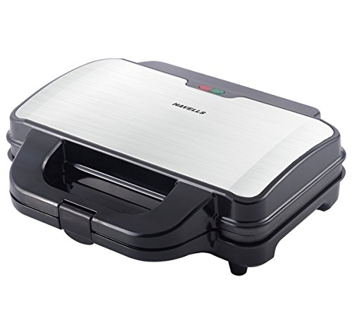 Havells Big Fill 900-Watt 2 Slice Sandwich Maker (Black)