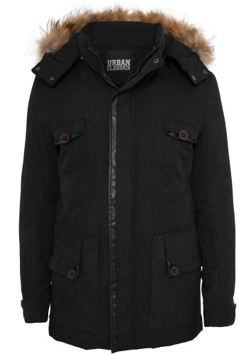 Urban classics tB575 down parka pour homme coupe regular fit Gris - Lightgrey