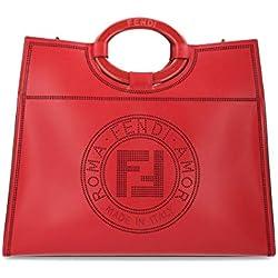 Fendi Luxury Fashion Mujer 8BH360A8SLF0MVV Rojo Bolso Tipo Shopper   Otoño-Invierno 19