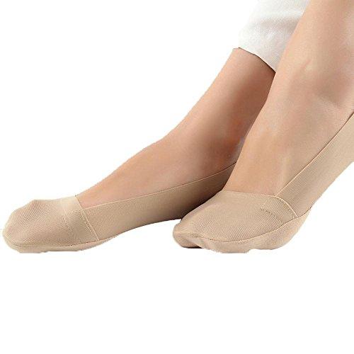 Pawaca 3 Paar Frauen Low Cut Liner Socken Unsichtbare Rutschfeste Casual Footies No Show Socken für...