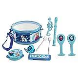 Instrumento para ni/ñas Piano port/átil Disney Frozen Teclado electr/ónico Lexibook K720FZ Color Azul