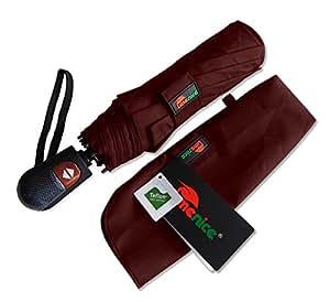 Umenice Ombrello 9-rib, antivento, con 210T tessuto Teflon rosso Red