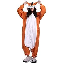 Kigurumi Unisex Adulto Animal Pijamas Carnaval Halloween Cosplay Disfraz Ratón L