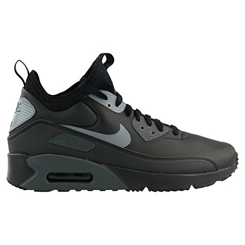 Nike Herren Air Max 90 Ultra Mid Winter Schwarz Synthetik/Textil Winterschuhe 40.5