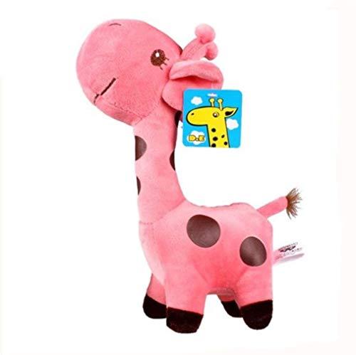 Bobopai Pink Plush Giraffe Stuffed Doll 7 Inch Pet Dog Cat Plush Play Toy Kitten Puppy Stuffed Toy by SamGreatWorld (Pink Giraffe) (18 Bike-motoren-kit)