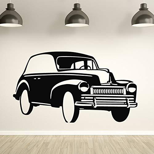 Hübsche automobil Wandaufkleber für Mann Wohnkultur Wohnzimmer Schlafzimmer Vinyl Wasserdichte Wandkunst Aufkleber Abnehmbare 43X75CM