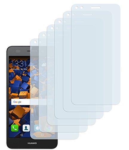 mumbi Schutzfolie kompatibel mit Huawei Y6 Pro 2017 Folie klar, Bildschirmschutzfolie (6x)
