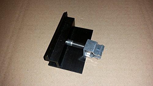 PROFINESS KlickFix-Modul-Endklemme schwarz eloxiert, komplett vormontiert zur Befestigung von Photovoltaik-Modulen mit schwarzen Rahmen, Rahmenstärke 35mm Photovoltaik-modul