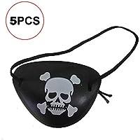 Newin Star 5 Unids/set Solo Pirata Máscara de Ojos de Juguete para Niños Accesorios de Disfraces de Fiesta de Halloween