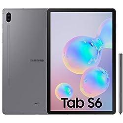 "Samsung Galaxy Tab S6 Tablette 10,5"" (128 Go, S Pen Inclus, écran sAMOLED, WiFi) Gris"