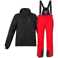 fc672f5b6791 Suchergebnis auf Amazon.de für  Herren Skijacke, schwarz rot  Sport ...