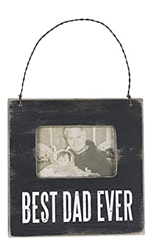 Primitives by Kathy Mini Box Frame, Best Dad, 4.5 Square