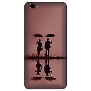 Skintice Designer Back Cover with direct 3D sublimation printing for Vivo Y55L