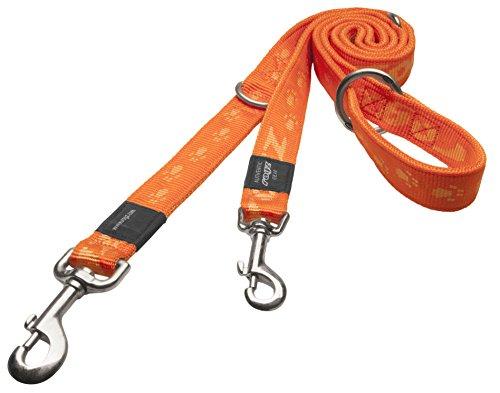 Natürlichem Leinen-finish (Rogz HLM27-D Alpinist Leine/Everest, XL, orange)