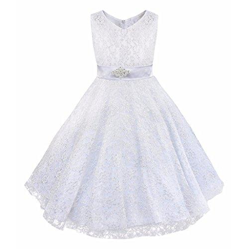 Eagsouni Mädchen Kleid Prinzessin Lace Partykleid Abendkleid Kommunionkleid Brautjungfer Festlich...
