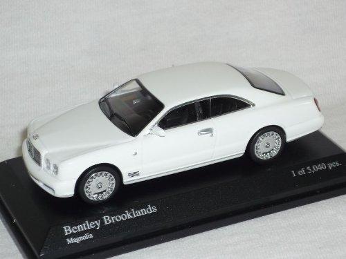 Minichamps Bentley BrookLands Coupe Magnolia Weiss 1/64 Modell Auto Modellauto Magnolia Coupe