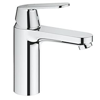 GROHE 23327000 Eurosmart Cosmopolitan Bathroom Tap (Smooth Tap Body and Medium High Spout)