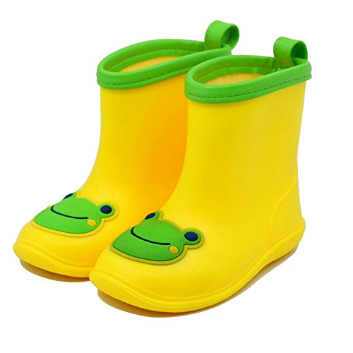 Olele Kids Rain Boot, Waterproof Rainboots Rain Shoes for Toddler Boys Girls