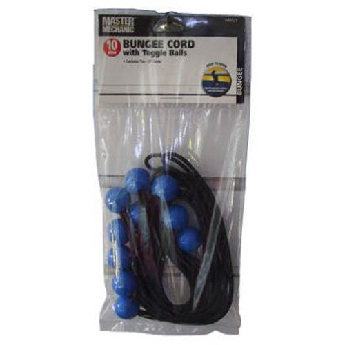 BOXER TOOLS 10-Pack Bungee Cords With Toggle Balls -