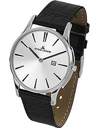 Jacques Lemans Unisex Erwachsene-Armbanduhr 1-1936B
