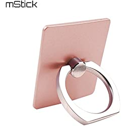 Mstick Ring Stand Mobile Phone Holder For Any Device (Rose Gold)