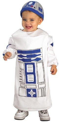 süßes R2D2 'Star Wars' Kostüm für Kinder Gr. 86/92, (Kostüm Baby R2d2)