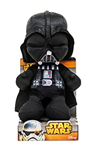Star Wars - Darth Vader en Steam Velboa Felpa, 25 cm de displaybox - Peluche Darth Vader 25 cm