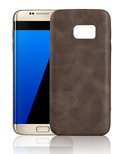 KolorFish-Real-Leather-Pattern-Thin-Back-Business-Series-Case-Cover-for-Samsung-Galaxy-S7-Edge-Dark-Brown