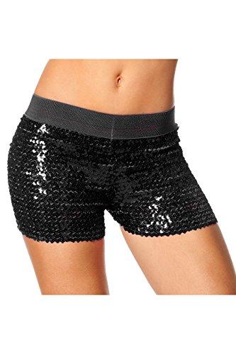 Shorts Pailletten Kostüm - Wilbers 6431-E Hotpants Pailletten 38