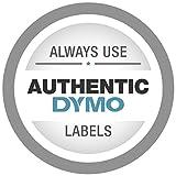 Dymo LetraTag Plastic Label Tape, 12 mm x 4 m Roll, White