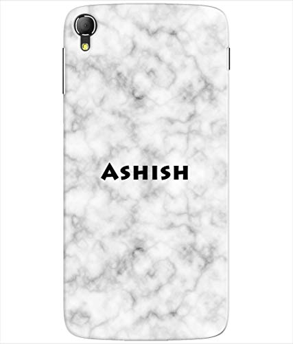 Pinaaki Enterprises Silicon Printed Designer Back Cover for Panasonic Eluga Switch with Name Ashish