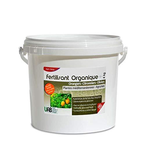 AGRO Sinne Dünger Bio Zitrusfrüchte Orangenbäumen, Zitronenbäume und Olivenbäume-4kg ag-agru4