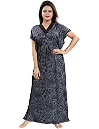 3db0612102 TUCUTE Women s Girls Floral Print Kaftan Style Nighty Night Gown Nightwear  Sleepwear