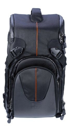 Dorr Yuma Double Sling Backpack - Black and Orange