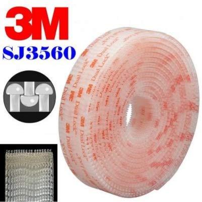 Stickerslab - dual lock sj 3560 3mtmvelcro adesivo da 25mm - 25mm x 1mt
