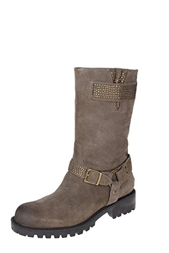 LIU JO STIVALE DONNA CON STRASS COLORE MARRONE S64115- P0079 Mud
