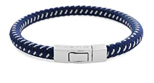Tateossian Blue Click Stenyl Bracelet of 20cm