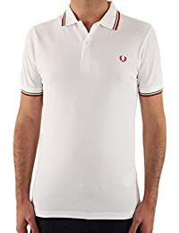 POLO FRED PERRY A BANDES SLIMFIT 183
